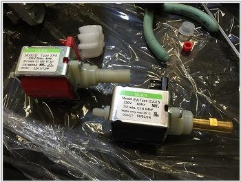 드롱기 아이코나 빈티지 펌프 교체기. (ecov310)
