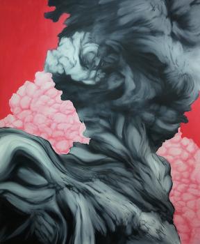 cloud 130x162 oil on canvas 2015