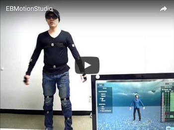 EBMotion Studio - 모션캡쳐
