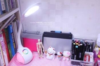 아이방 인테리어 소품 추천_무지개 일곱빛깔 무드등 LED 스탠드