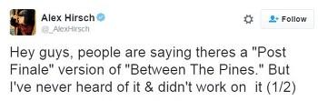 그래비티 폴즈 특별편 Betsween the Pines '포스트 피날레' 버전 소식