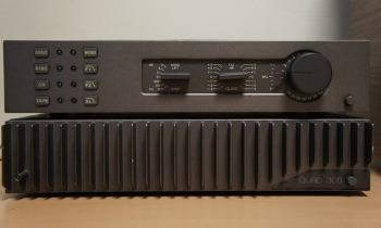 Quad 34 Pre Amplifier, Quad 306 Power Amplifier