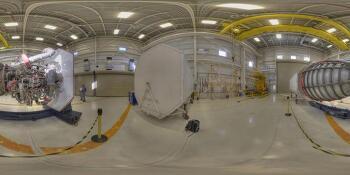 360VR Space Shuttle Main Engine  우주왕복선  주엔진