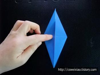 종이접기기본형- 새접기