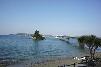 오키나와 여행 셋째날 (5) - 코우리대교,코우리 오션타워