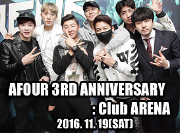 2016. 11. 19 (SAT) AFOUR 3RD ANNIVERSARY @ ARENA