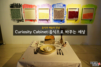 Curiosity Cabinet:음식으로 바꾸는 세상 ♬ DDP 갤러리문