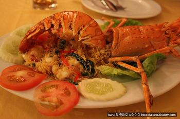 [말레이시아/랑카위여행] 싱싱한 해산물과 최고의 맛, 오키드리아(Orkid ria)시푸드 레스토랑