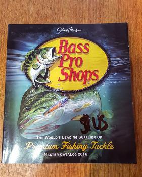 베스프로샵 BassPro Shop 카탈로그 2016