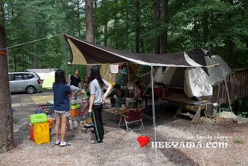 캠핑#14 - 청옥산 자연휴양림, 또 다른 가족들과의 여행