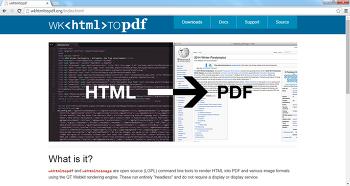 wkhtmltopdf 소개 (html 문서를 pdf 변환)