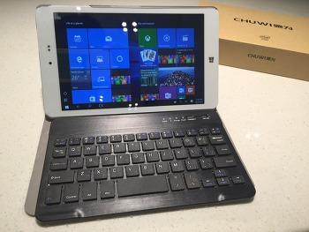 CHUWI Hi8 윈도 10+안드로이드 태블릿 개봉기