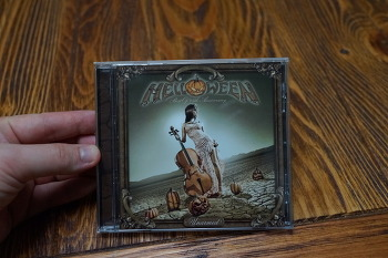헬로윈 25주년 기념 음반  HELLOWEEN UNARMED BEST OF 25TH ANNIVERSARY