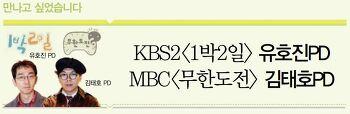 KBS2<1박2일> 유호진PD & MBC<무한도전> 김태호PD 인터뷰