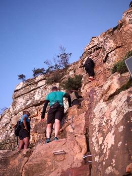 아프리카 캠핑카여행 Day 10 ( Part 1/2) - 남아공 케이프타운 라이언스 헤드 ( Lion's Head )