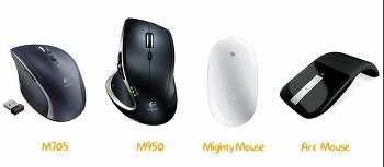 마우스 기능별 6종 제품 평가