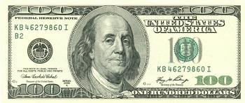 쨔잔~ 미국 100달러 새지폐를 소개합니다
