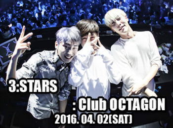 2016. 04. 02 (SAT) 3:STARS @ OCTAGON