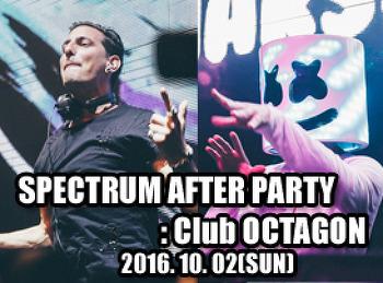 2016. 10. 02 (SUN) SPECTRUM AFTER PARTY @ OCTAGON