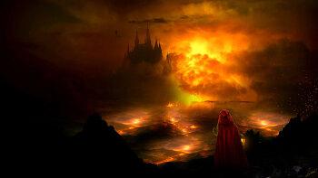 포토샵 합성 강좌 다크 캐슬  (Photoshop Manipulation Tutorial Dark Castle)