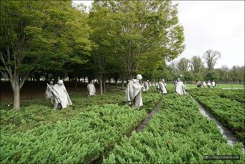 <워싱턴>(2) Korean War Veterans Memorial (한국전 참전용사 추모공원)