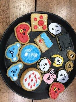 울딸 루비가 아빠를 위해 만들어준 쿠키