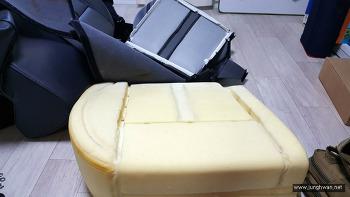QM5 뒷자리(2열) 열선시트 DIY 2편 시트편