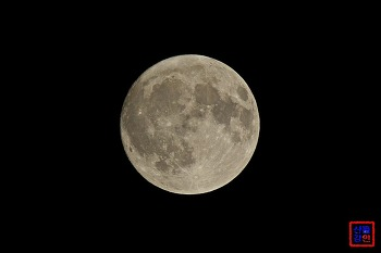 한가위 보름달