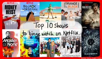 Top 10 Shows to Binge Watch on Netflix