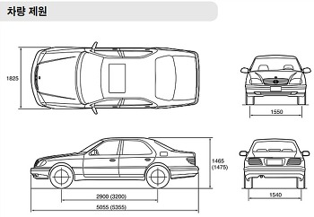 체어맨 CM500S 차량제원 및 규격오일, 용량