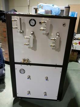 2018년 새해를 맞아 특수냉각기 제작했어요~신화테크에서 제작한 석션냉각기입니다~