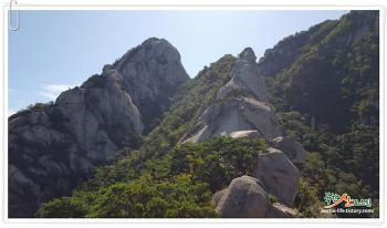 가을 산행 북한산 숨은벽능선~백운대~향로봉, 날이 좋아서