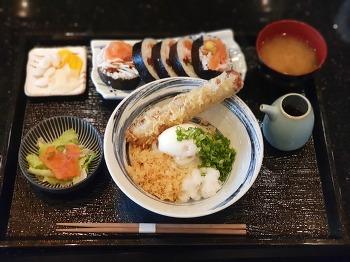 구미맛집 :: 갓포본 붓카케우동 + 후토마키 세트