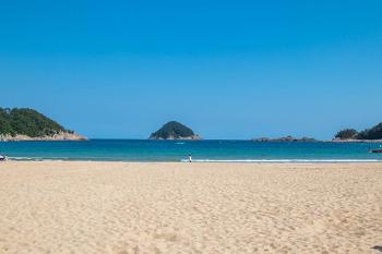 [남해] 성큼 다가온 여름바다, 상주 은모래 비치