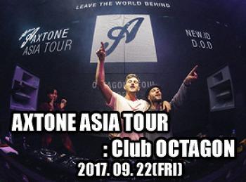 2017. 09. 22 (FRI) AXTONE ASIA TOUR @ OCTAGON
