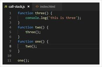 Javascript Call Stack - 자바스크립트 기초 공부 #1