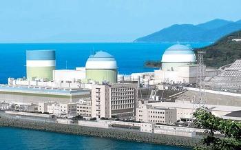 이카타 핵발전소 3호기 정전사태 발생