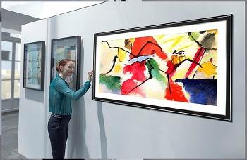 벽에 붙이는 TV 2020년형 LG 올레드 TV(65GX)의 해외 평가로 라이프스타일 변화 기대