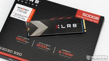 가성비 SSD! PNY XLR8 CS3030 M.2 NVMe 히트싱크 500GB