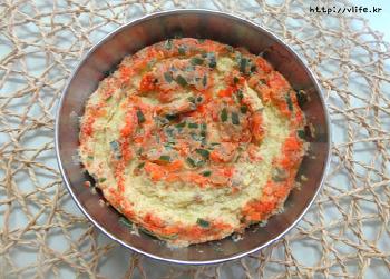 옛날식 새우젓 달걀찜, 달걀껍질 가습기