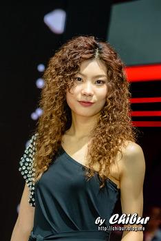 2018 부산국제모터쇼 레이싱모델 장미림