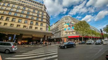 프랑스 파리 5일차 샹젤리제 거리, 라파예트 백화점 (유럽여행 38일차)