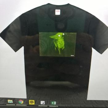 슈프림 supreme 예쁜 티셔츠 프린팅 반팔티 팔라스