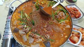 [문막 맛집]순대국밥 전문 다래순대, 내장전골도 맛있습니다