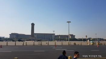 중국 여행 천안문은 자금성의 한개의 문일뿐이다.