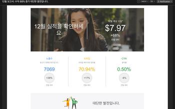 블로그 수익 68% 증가!