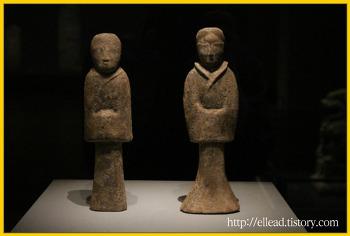 국립중앙 박물관 : 아시아관의 유물들