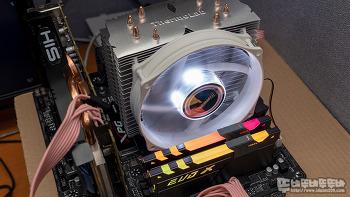 써모랩 TRINITY WHITE LED 6.0 저소음 CPU 쿨러