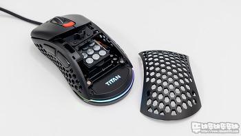 제닉스 TITAN G AIR 초경량 타공 게이밍 마우스