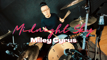 Miley Cyrus(마일리 사이러스) - midnight sky Drum Cover by ROP